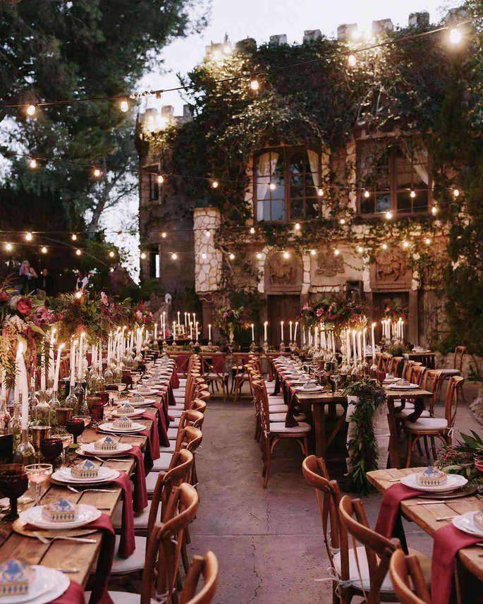 A magical wedding in Harry Potter style – Let yourself be enchanted by these impressions