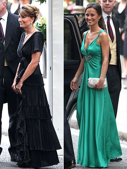 CAROLE AND PIPPA MIDDLETON photo | Royal Wedding, Carole Middleton, Kate Middleton