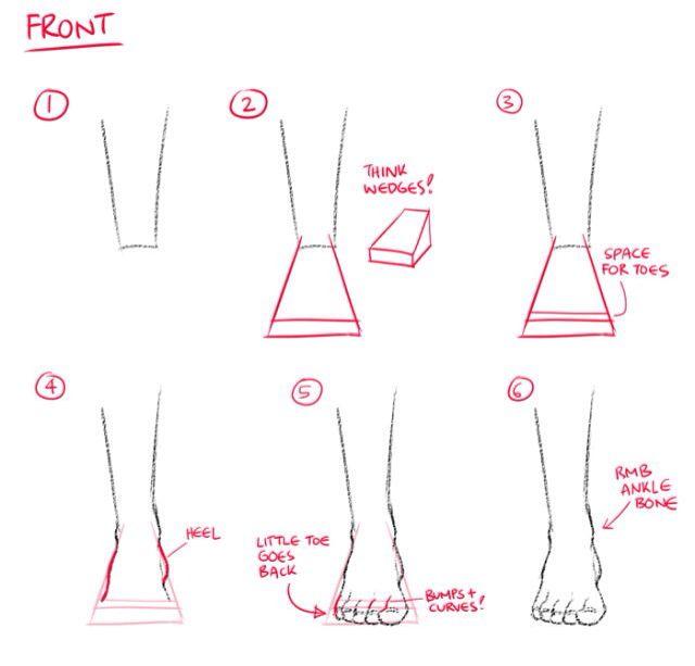 Front foot tutorial