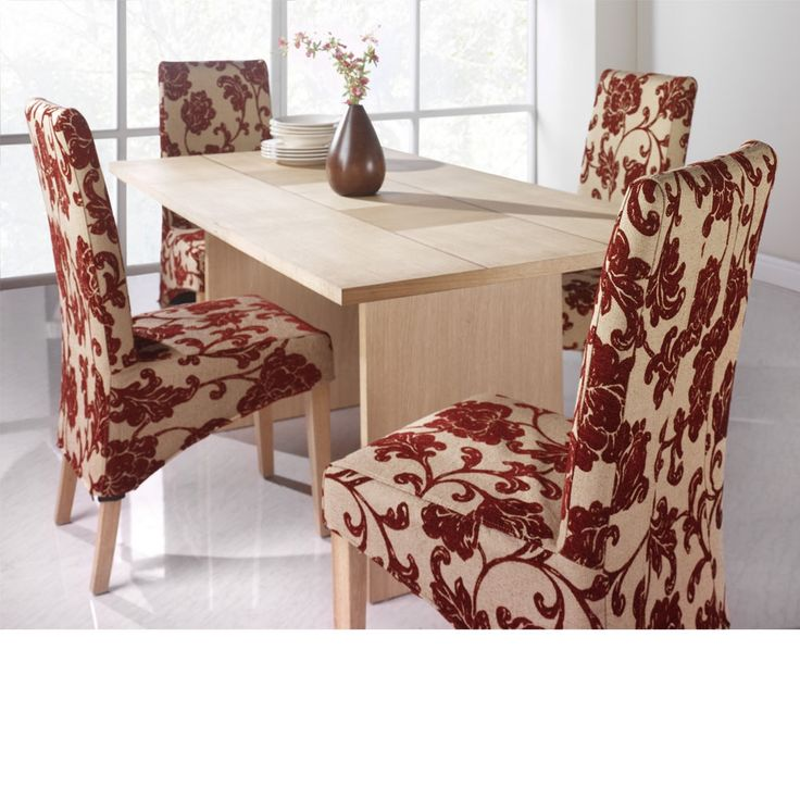 Room Chair Cushions Seat For Dining Chairs Sure Fit Cotton Duck Long Arm  Cover Hayneedle