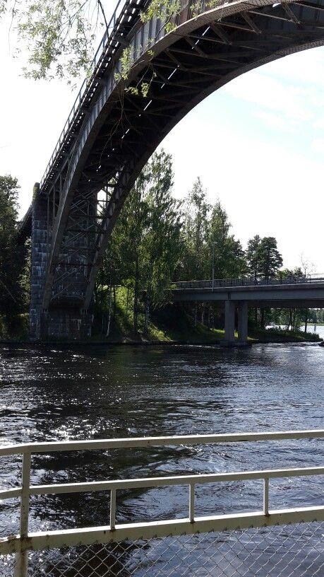 Sillat Kymijoki Heinola