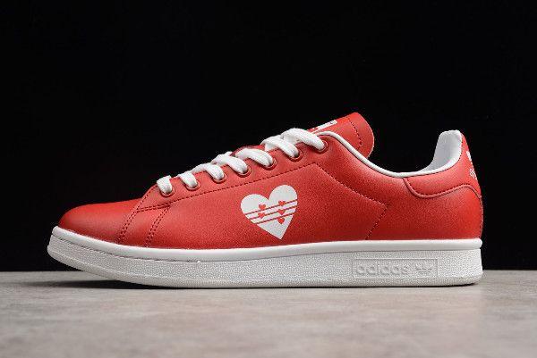 New adidas Stan Smith Valentine's Day Bright RedWhite