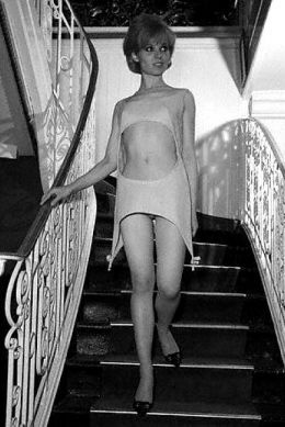 See Through Clothing And Thin Style Of Sixties