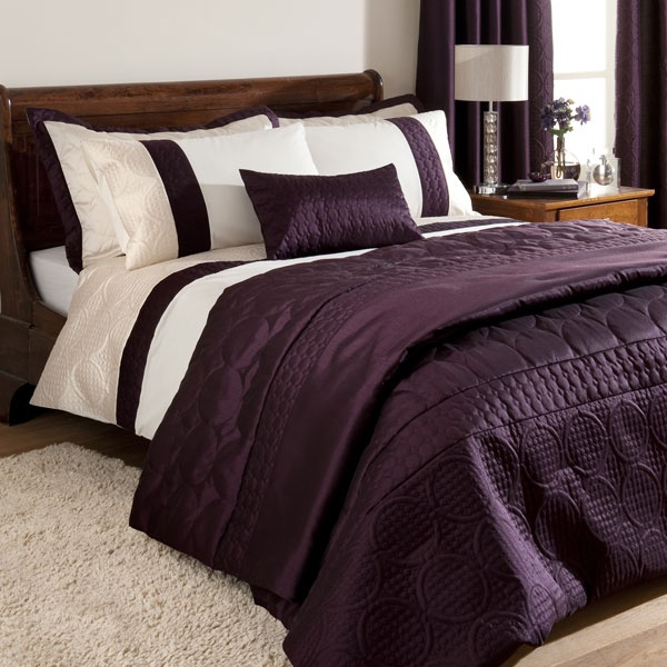 Plum Bedroom Bedding Sets Bedroom Decor Master Bedroom Bedroom Ideas