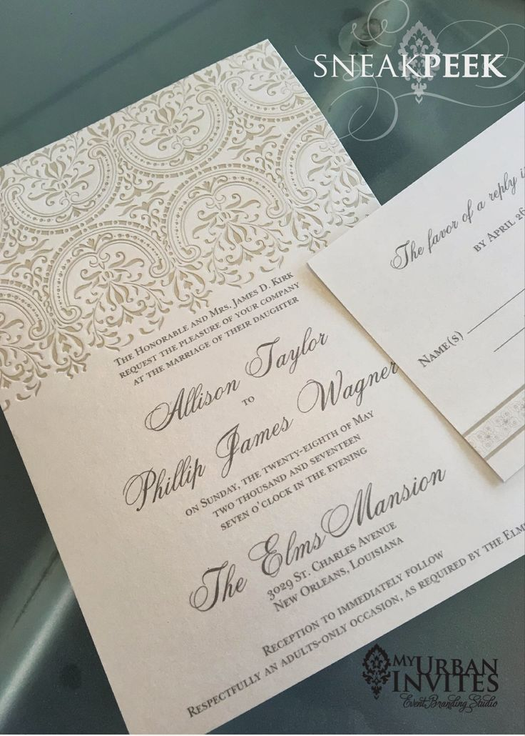 The 7 best Elegant Wedding Invitations images on Pinterest | Elegant ...