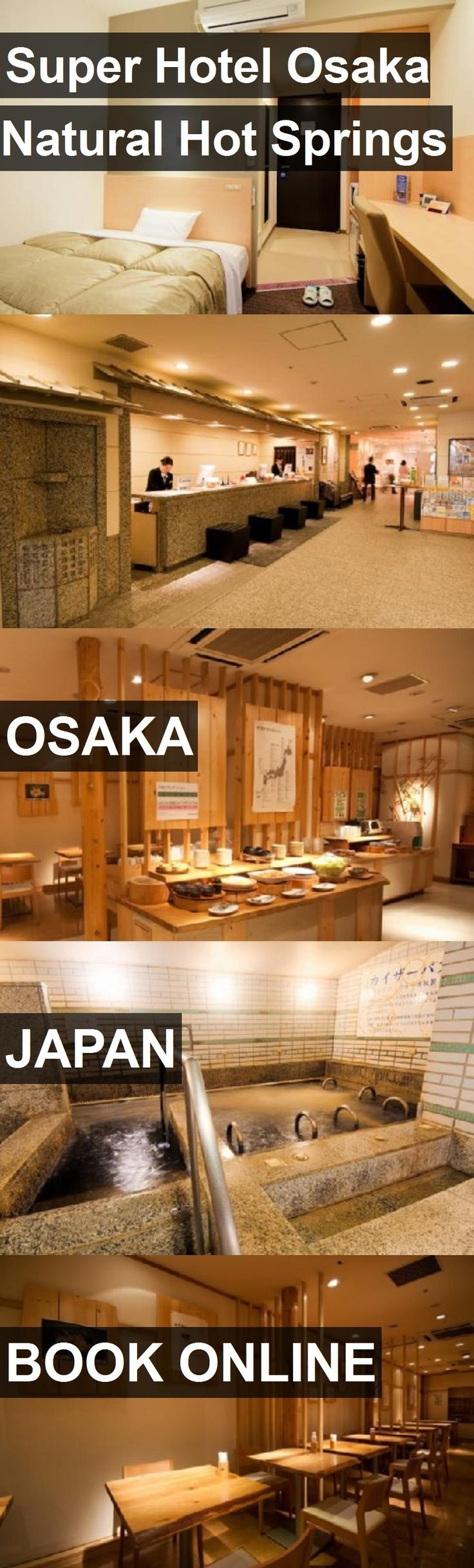 Super Hotel Osaka Natural Hot Springs in Osaka, Japan. For more information, photos, reviews and best prices please follow the link. #Japan #Osaka #travel #vacation #hotel