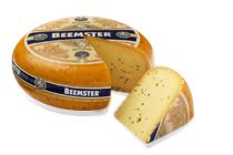 Beemster Mustard Seed: Firmer cheese with mustard seeds for added texture and flavor; very good snacking cheese