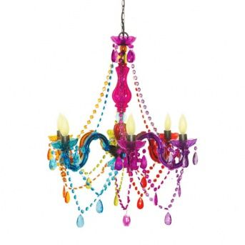 Colorful Chandeliers: Cirque Hanging Chandelier 25