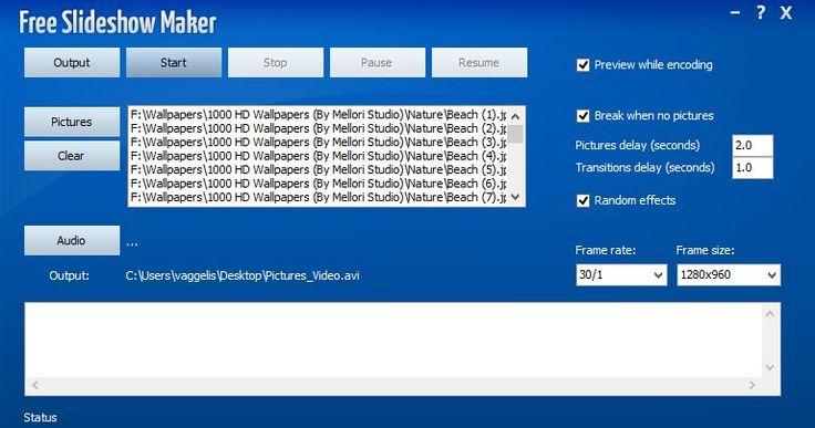 Το Free Slideshow Maker είναι ένα απλό πρόγραμμα που θα σας βοηθήσει να δημιουργήσετε παρουσιάσεις φωτογραφιών για χρήση σε DVD PC και Web. Είναι μία ολοκληρωμένη λύση λογισμικού παρουσίασης για να μοιράζεστε τις καλύτερες αναμνήσεις σας. Με μία προσεκτικά και καλά σχεδιασμένη διεπαφή και με ευανάγνωστα πλήκτρα είναι τόσο απλή στην λειτουργία της και δεν χρειάζεται ιδιαίτερες επεξηγήσεις και δεν πρόκειται να σας προβληματίσει. Θα πρέπει να ξεκινήσετε πρώτα με την προσθήκη αρχείων εικόνας…