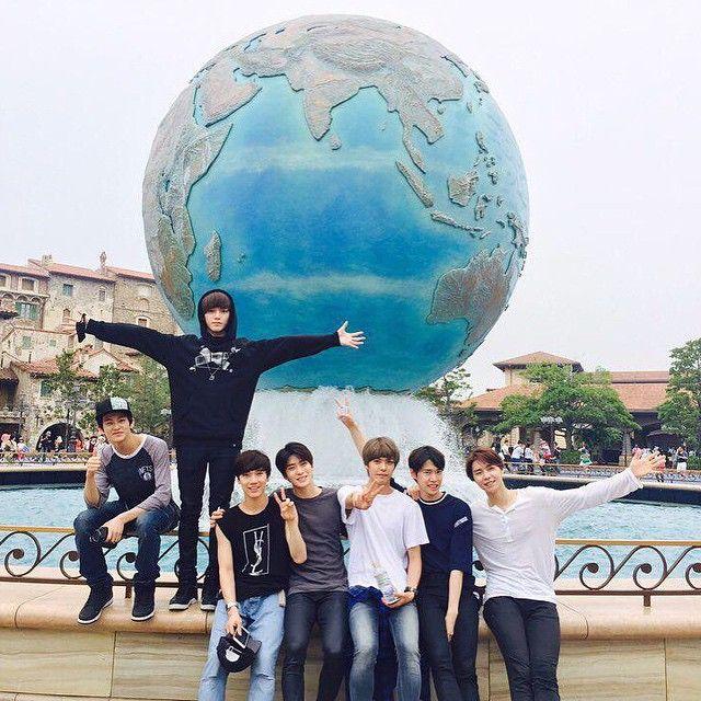 Mark, Taeyong, Ten, Jaehyun, Hansol, Doyoung
