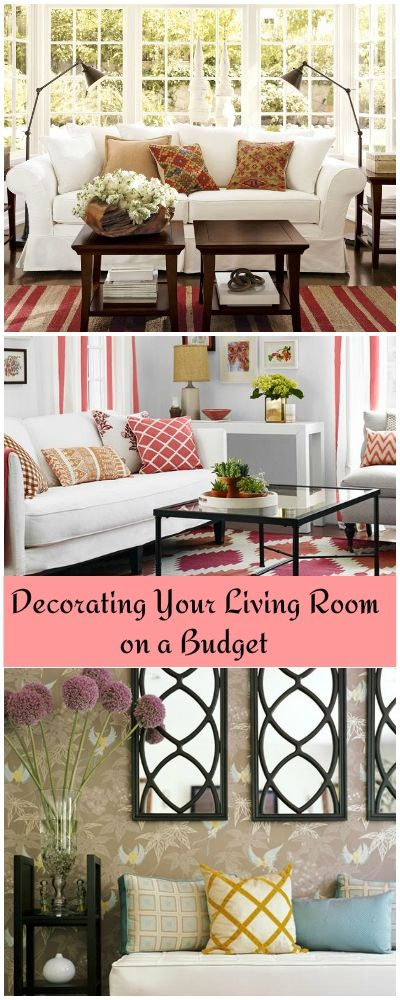 Decorating Your Living Room on a Budget • Tips & Ideas!