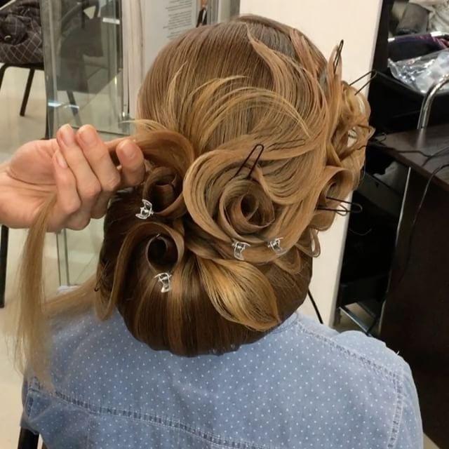 Моя картина из волос ,таинство роз Виктории . 🙈My picture made of hair, the mystify of Victoria's roses 🙈