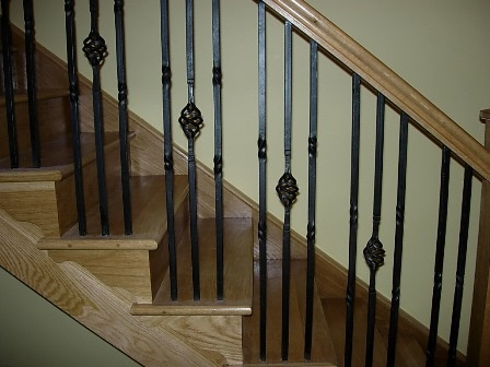 wrought iron staircase spindles uk spindle balusters exterior lowes