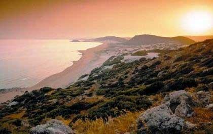Karpaz Félsziget Nemzeti Park, Ciprus.
