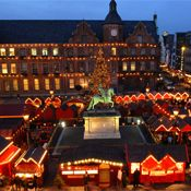 Dusseldorf Christmas Market at night