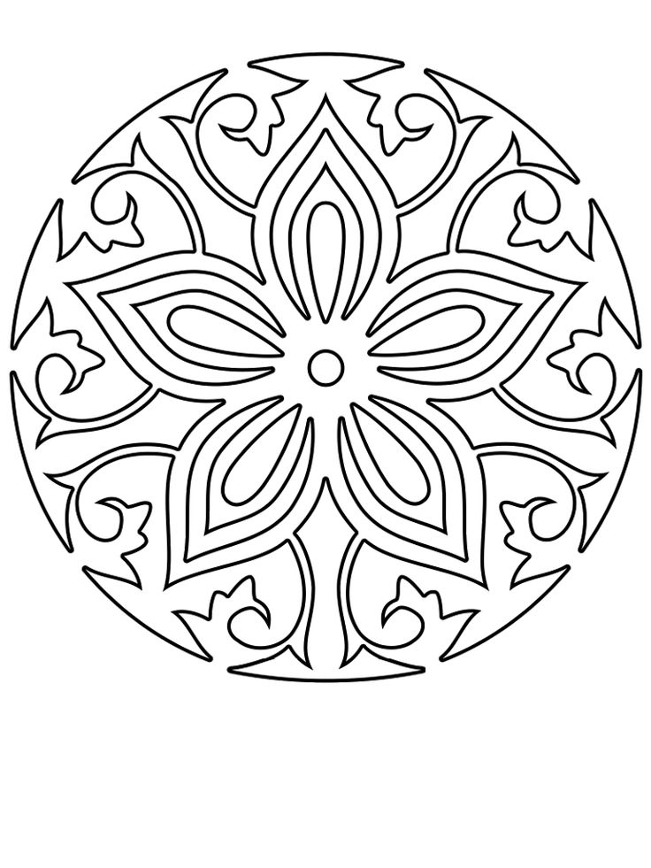 69 Best Coloring Book Mandalas Images On Pinterest