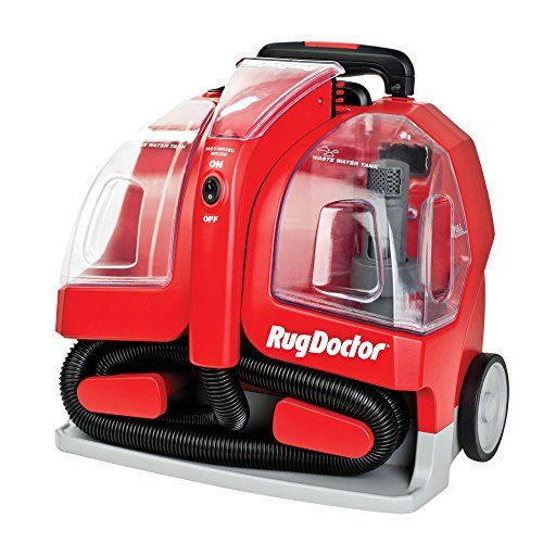 Rug #Doctor technology in a #Portable Spot Cleaning. Remove Spots and Stains with our 2X suction and powerful handheld motorized brush. Use the retractable handle...
