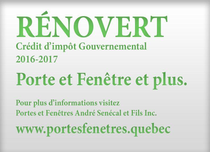 Fenestration au Québec, Les Portes et fenêtres André Senécal et Fils