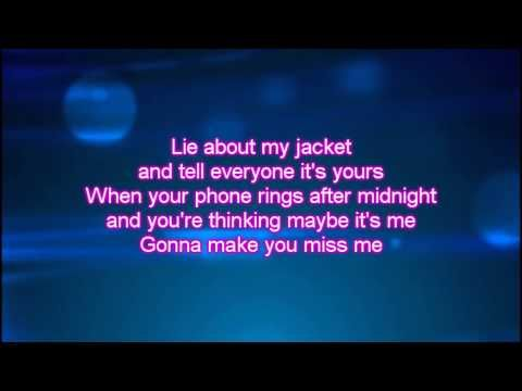 Sam Hunt - Make You Miss Me Lyrics - YouTube