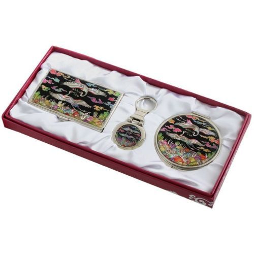 business card holder id case #makeup #compact #mirror keychain ring gift set #36,  View more on the LINK: 	http://www.zeppy.io/product/gb/2/201465276963/