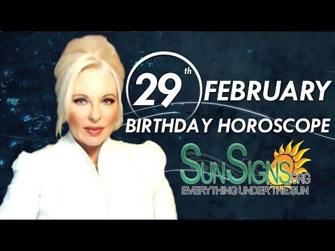 IF YOU ARE BORN ON FEBRUARY 29, get your birthday horoscope and birthday personality predictions for February 29th. Read the full article at …