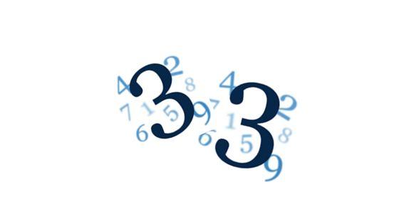 Wibracja numerologiczna liczby 33. Wibracja Mistrzowska.