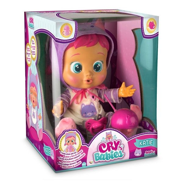 Baby Wow Cry Babies Katie Shop4megastore Com Cry Baby Baby Dolls Baby Crying