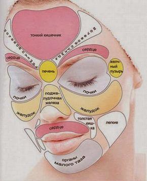Каждая часть лица отвечает за функционирование определенного внутреннего органа. Зоны отражения внутренних органов на лице: Высыпания (прыщи, угри, красная сыпь) появились на щеках – скорей всего, у вас проблемы с легкими – правая щека является отражением правого легкого, левая щека – левого. Если прыщи начали выскакивать на кончике носа и над верхней губой, возможно у […]