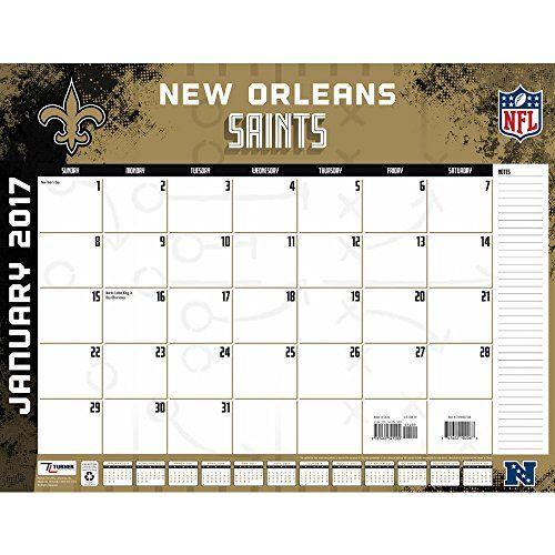 New Orleans Saints Desk Calendar