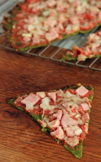 Spinach Pizza Crust (I've made this a couple of times with mushrooms and peppers instead of meat. SO DELICIOUS AND EASY.)