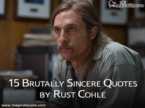 "Detective Rustin ""Rust"" Cohle, played by Matthew Mcconaughey in Season 1 of True Detective, has become one of the most memorable characters in TV history."
