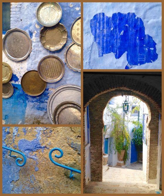 Inspiração azul que vem do Marrocos pra sua decoração, que tal? Tem mais aqui no blog, vem!