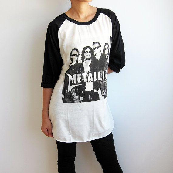 metallica shirt james hetfield tshirt baseball by