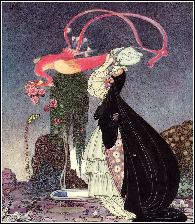 "Kay Rasmus Nielsen (March 12, 1886 – June 21, 1957) was a Danish illustrator who was popular in the early 20th century, the ""golden age of illustration"""