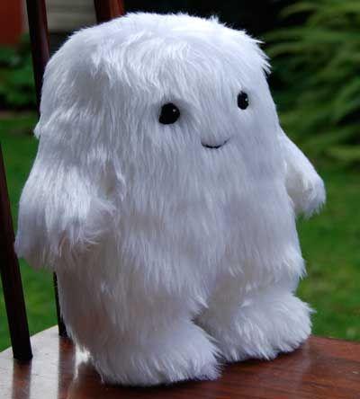 Yeti plush ideas...yeti plush?? YETI PLUSH?? That, my good person, is a hairy adipose!!!!
