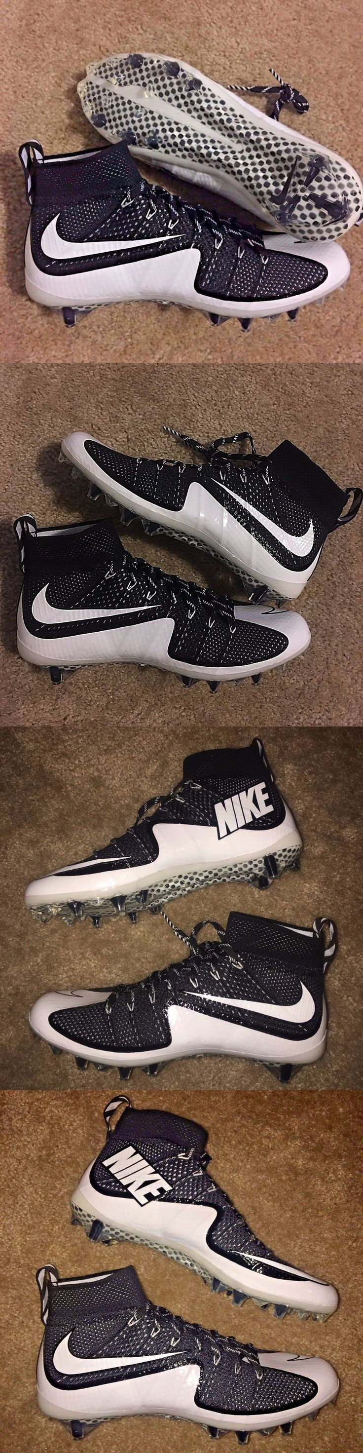 Mens 159059: Oreo Nike Flyknit Vapor Untouchable Molded Football Cleats Various Sizes -> BUY IT NOW ONLY: $105 on eBay!