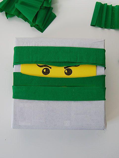DIY -Lego Ninjago paketti - Pompom.fi • Juhlat on katettu
