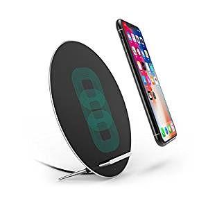 Amazon | Qi 急速 ワイヤレス充電器 Fast Charger W7 置くだけ充電 ワイヤレスチャージャー 三つのコイル 月の型 Samsung Galaxy Note 8/S8/S8 Plus/ S7/S7 Edge/Note 5/S6 Edg シルバーe Plus/ iPhone 8 / iPhone 8 Plus / iPhone X/他Qi対応機種 プレゼント | クレードル・ドック 通販