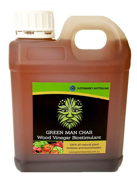 [mp_row]  [mp_span col=12]  [mp_row_inner]  [mp_span_inner col=12]  [mp_text]  Green Man Char Wood Vinegar has many applications and is a fantastic bio-stimulant. Depending on the use, wood vinegar is often significantly diluted before application.    As a fertilizer, Wood Vinegar is able to:    Improve absorption through the roots of your plants   Stimulate plant and vegetable growth   Promotes healthy and balanced growth   Enriches soil fertility   Acts as a pest repellent   Imp...