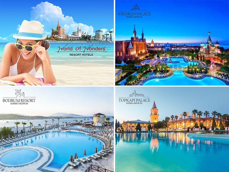 WOW Hotels erken rezervasyon fırsatları ile yaz tatilinizi şimdi planlayın! %35'e varan erken rezervasyon fırsatları için SON KAYIT BUGÜN. Ücretsiz çocuk yaşları ve rezervasyon için; bit.ly/MNGTurizm-wow-otelleri-erken-rezervasyon-s