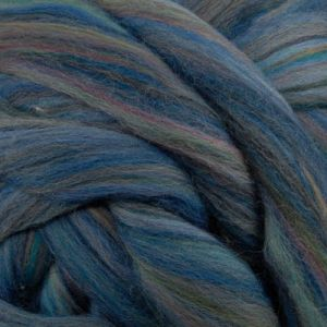 Get it before it's gone - Ashland Bay Colonial Wool Roving Spinning Fiber Multi Color - Blue