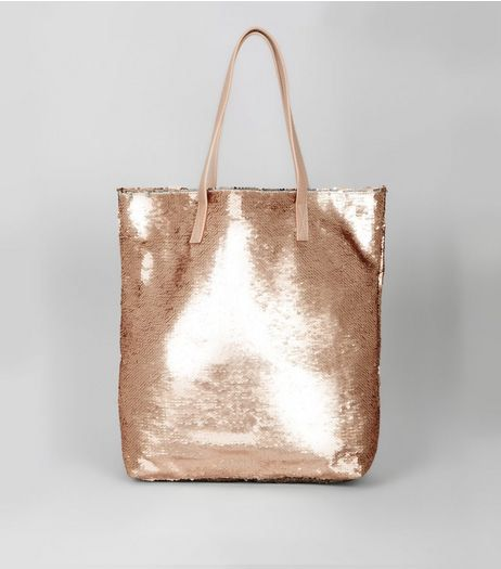 Sequined Shopper Bag from New Look £22,99