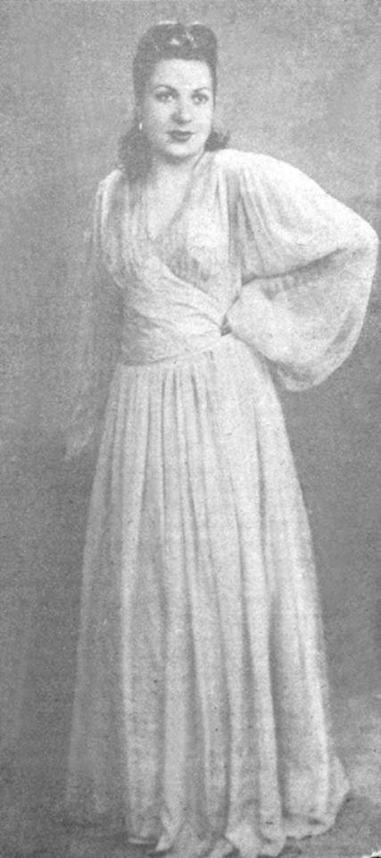 Türkiye'nin ilk kadın mankeni Mürüvvet Sim Sümerbank Reklamı'nda...
