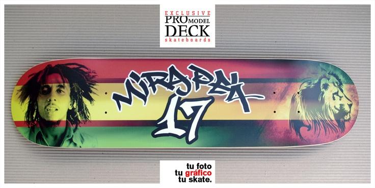 Tabla de skateboard personalizada, regalo para un amigo que cumple 17 años