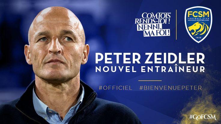 FC SOCHAUX GREEK FANS #BIENVENUE #PETER    [communiqué officiel] Peter Zeidler est le nouvel entraîneur du FCSM. #BienvenuePeter  ► http://www.fcsochaux.fr/fr/index.php/article/9956