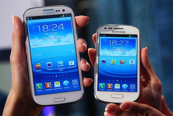 GalaxyS3 supera al Iphone en mercado de smartphones