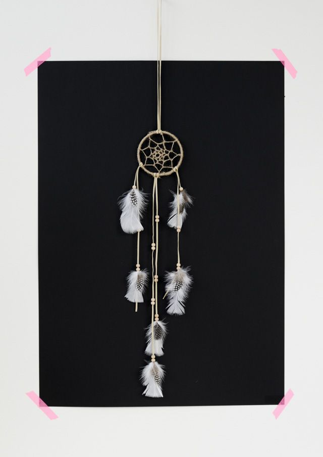 DIY-dream-catcher With step by step tutorial in link