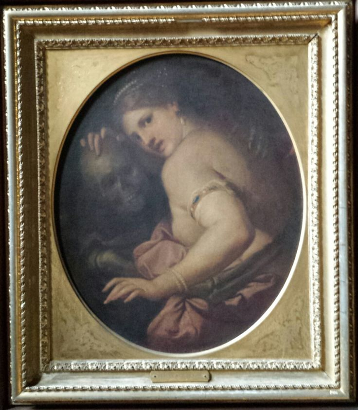 Beauty and Death (painting) Aka Beauty in the Embrace of Death; or Time, Uncovering Truth. Gregorio Lazzarini (attributed) 18th century Oil on canvas