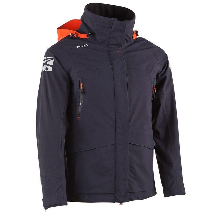 Tribord: Chaqueta ligera impermeable Offshoroa. Una chaqueta concebida para la práctica de vela que funciona PERFECTAMENTE en el monte. Impermeabilidad: 10.000 mm! Validado bajo una lluvia torrencial de 300 L/h/m2, 4 h. 100% estancas.