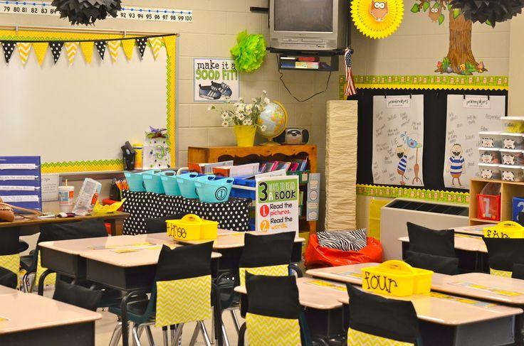 Classroom Decor Gray : Yellow and grey classroom google search